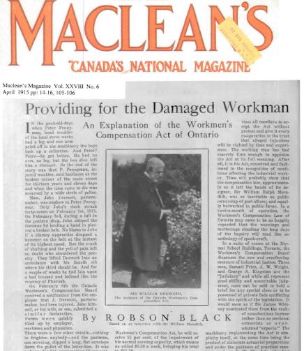 Maclean's Magazine 1915