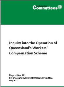 Queensland Inquiry report